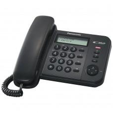 Τηλεφωνική Συσκευή Panasonic KX-TS560EX Μαύρη